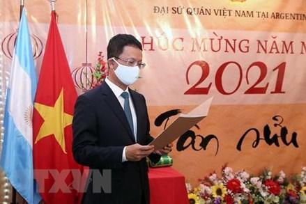 Cộng đồng người Việt tại Argentina tổ chức đón mừng Xuân Tân Sửu