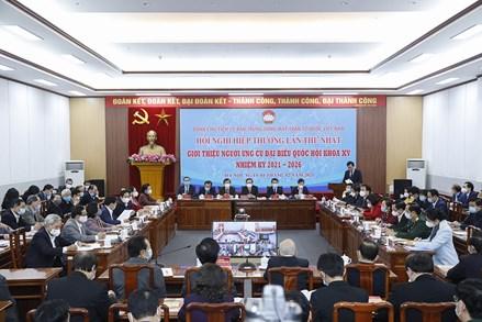 Đoàn Chủ tịch UBTƯ MTTQ Việt Nam tổ chức Hội nghị Hiệp thương lần thứ nhất