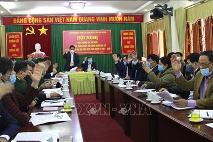 Hướng dẫn tổ chức hội nghị cử tri, giới thiệu người ứng cử đại biểu HĐND cấp xã