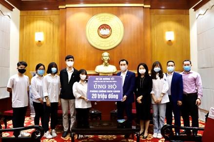 Học sinh Trường THPT Phan Đình Phùng: lan tỏa yêu thương trước đại dịch Covid-19