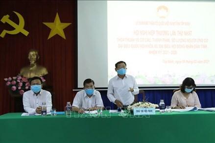 Ủy ban MTTQ Việt Nam tỉnh Tây Ninh tổ chức Hội nghị Hiệp thương lần thứ nhất