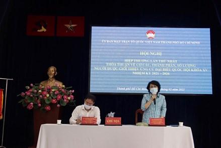 Ủy ban MTTQ Việt Nam Thành phố HCM tổ chức hội nghị hiệp thương lần thứ nhất