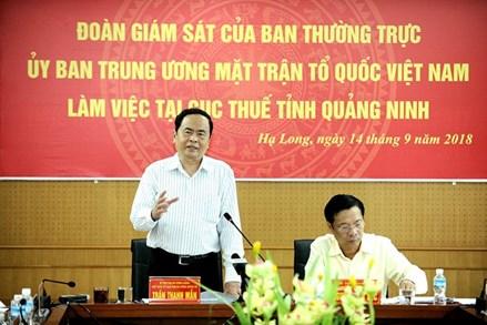 Chủ tịch UBTƯ MTTQ Việt Nam Trần Thanh Mẫn: Nhân dân tin tưởng hoạt động giám sát, phản biện xã hội