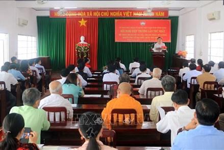 Ủy ban MTTQ Việt Nam tỉnh Vĩnh Long tổ chức Hội nghị Hiệp thương lần thứ nhất