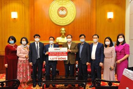HDBank ủng hộ 1,5 tỷ đồng tiếp sức người dân nơi tâm dịch Hải Dương