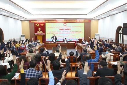 Cơ quan UBTƯ MTTQ Việt Nam giới thiệu ông Trần Thanh Mẫn và ông Hầu A Lềnh ứng cử Đại biểu Quốc hội khóa XV