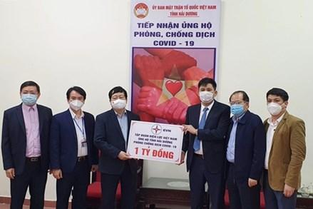 Trên 71 tỷ đồng ủng hộ Hải Dương phòng chống dịch COVID-19