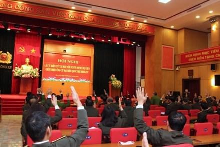 Bộ Công an giới thiệu Bộ trưởng Tô Lâm và 3 cán bộ ứng cử đại biểu Quốc hội khóa XV