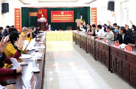 Thái Nguyên triển khai tốt công tác bầu cử
