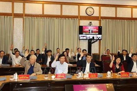 Văn phòng Trung ương Đảng giới thiệu 5 đồng chí ứng cử đại biểu Quốc hội