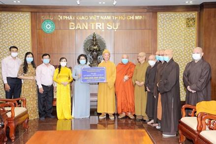 175 tỷ đồng ủng hộ phòng, chống dịch thông qua Ủy ban MTTQ Thành phố Hồ Chí Minh