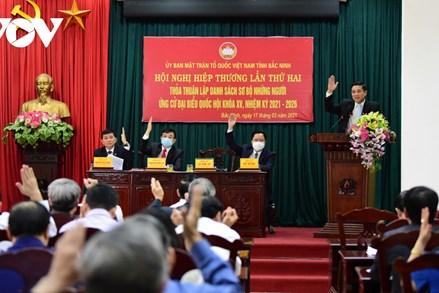 Bắc Ninh giới thiệu 13 người ứng cử ĐBQH khóa XV, 1 người tự ứng cử