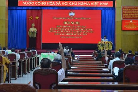 Gia Lai giới thiệu 13 người ứng cử đại biểu Quốc hội khóa XV