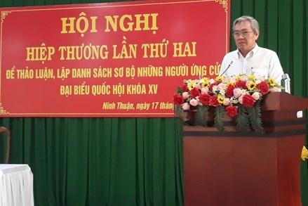 Ninh Thuận có 3 người dân tộc thiểu số ứng cử Đại biểu Quốc hội