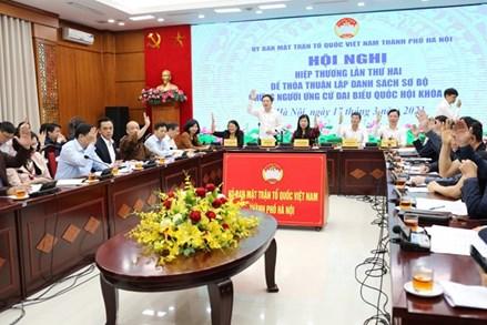 Hà Nội: 30 hồ sơ tự ứng cử đại biểu Quốc hội khóa XV
