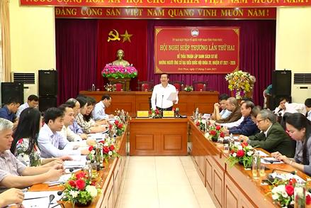 Cao Bằng, Thái Bình, Vĩnh Phúc, Quảng Ninh, Bà Rịa - Vũng Tàu tổ chức Hội nghị hiệp thương lần thứ hai