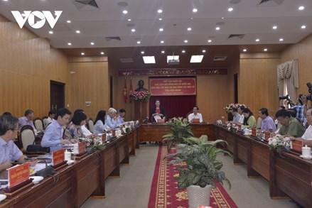Chủ tịch Quốc hội làm việc với Ban chỉ đạo công tác bầu cử tỉnh Kiên Giang