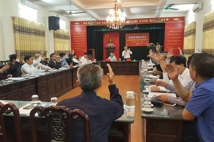 Nam Định: 1 người tự ứng cử đại biểu Quốc hội khóa XV