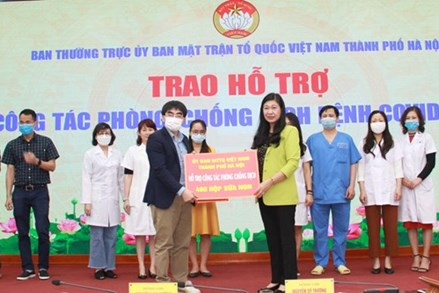 Tiếp nhận trên 12 tỷ đồng ủng hộ Quỹ 'Vì biển đảo' Việt Nam