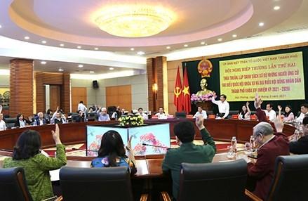 Hải Phòng: 15 người ứng cử Đại biểu Quốc hội khóa XV và 113 người ứng cử đại biểu HĐND