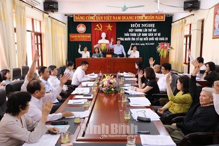 Sơn La, Hải Dương, Ninh Bình, Quảng Trị, Trà Vinh, An Giang tổ chức Hội nghị hiệp thương lần thứ hai