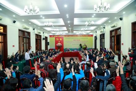 Hà Nội: Cử tri phường Quán Thánh đặt niềm tin vào những người được giới thiệu ứng cử đại biểu Quốc hội khóa XV