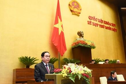 5 nhóm kiến nghị Đoàn Chủ tịch Ủy ban Trung ương MTTQ Việt Nam gửi tới Quốc hội