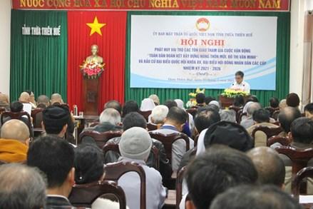 Thừa Thiên-Huế: Đề nghị các tôn giáo tham gia thực hiện xây dựng nông thôn mới, đô thị văn minh và bầu cử
