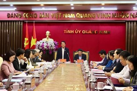 Quảng Ninh: Công tác bầu cử phải dân chủ, công khai và hướng tới người dân