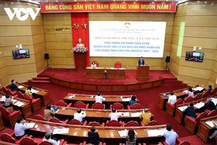 Quảng Ninh: Lấy tiêu chuẩn, chất lượng của đại biểu làm trọng tâm