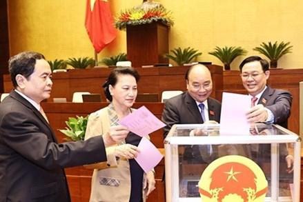 Chủ tịch UBTƯ MTTQ Việt Nam Trần Thanh Mẫn được giới thiệu để bầu giữ chức Phó Chủ tịch Quốc hội