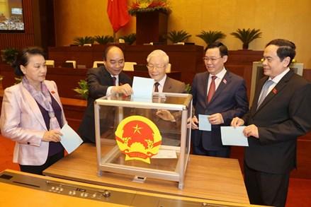Tổng Bí thư Nguyễn Phú Trọng được miễn nhiệm chức danh Chủ tịch nước
