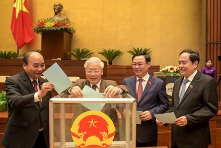 Ngày 5/4: Chủ tịch nước và Thủ tướng Chính phủ sẽ tuyên thệ nhậm chức