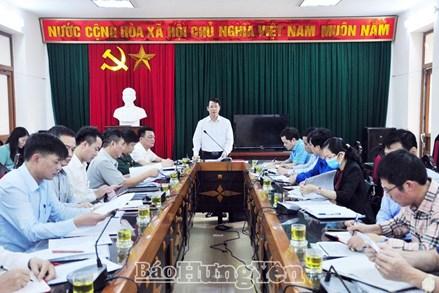 Hưng Yên: Chủ động, tích cực chuẩn bị cho công tác bầu cử