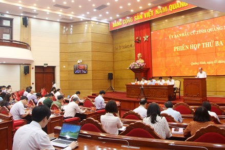 Quảng Ninh: Lựa chọn người có uy tín, kinh nghiệm tham gia các tổ bầu cử