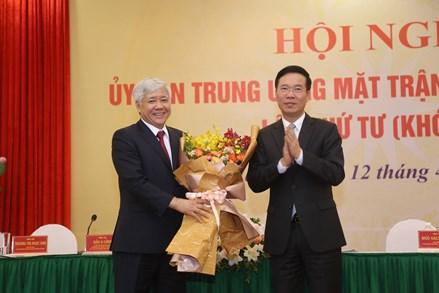 Tóm tắt lý lịch của ông Đỗ Văn Chiến, Bí thư Trung ương Đảng, Chủ tịch UBTƯ MTTQ Việt Nam