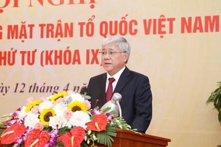 Tân Chủ tịch UBTƯ MTTQ Việt Nam Đỗ Văn Chiến: Nỗ lực cao nhất để hoàn thành tốt nhiệm vụ