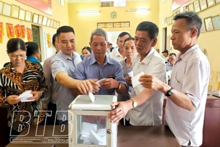 Thành phố Thái Bình, tỉnh Thái Bình: Khách quan, dân chủ trong lấy ý kiến cử tri