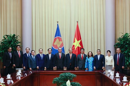 Hợp tác ASEAN luôn là ưu tiên đối ngoại quan trọng của Việt Nam