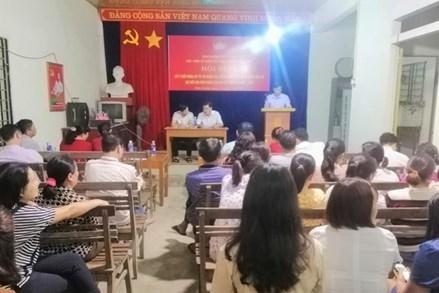 Lào Cai: Đồng thuận để tổ chức thành công bầu cử