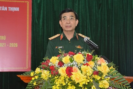 Cử tri nhất trí giới thiệu Thượng tướng Phan Văn Giang ứng cử ĐBQH