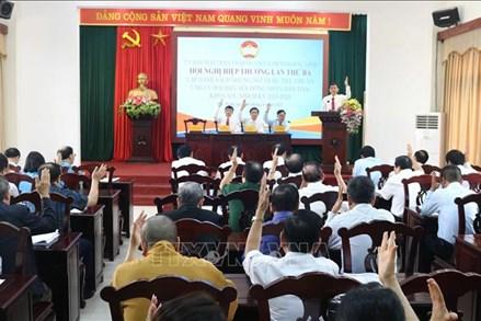 Bắc Ninh: Thống nhất cho 3 người xin rút khỏi danh sách ứng cử đại biểu Quốc hội khóa XV