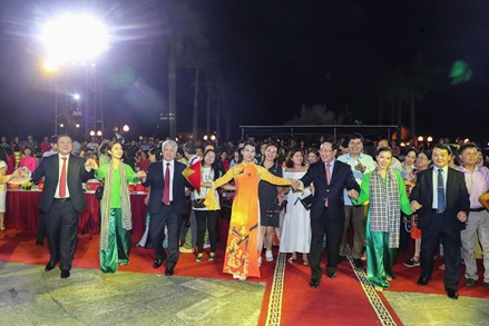 """Chương trình nghệ thuật """"Văn hoá các dân tộc - Hội tụ và phát triển"""" mừng Ngày văn hoá các dân tộc Việt Nam"""
