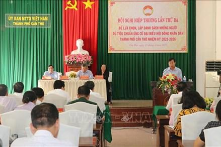 Ngày 15/4: Nhiều địa phương tổ chức Hội nghị hiệp thương lần thứ ba thông qua danh sách người ứng cử