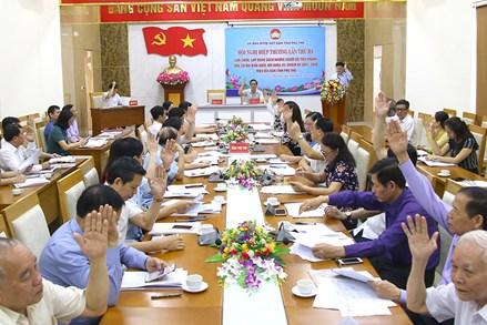 Phú Thọ: Thông qua danh sách 10 người ứng cử đại biểu Quốc hội khóa XV và 113 người ứng cử đại biểu HĐND