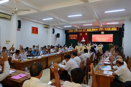 An Giang: Thông qua danh sách 11 người ứng cử đại biểu Quốc hội và 109 người ứng cử HĐND