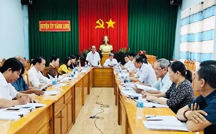 Bình Thuận: Tăng cường kiểm tra, giám sát đảm bảo cuộc bầu cử dân chủ