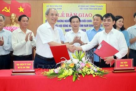 Nam Định bảo đảm quy trình bầu cử