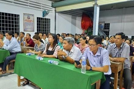 Bến Tre tổ chức cho ứng cử viên tiếp xúc cử tri từ ngày 5 đến 20/5