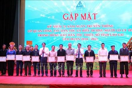 Lào Cai: Phát huy vai trò người có uy tín trong cộng đồng